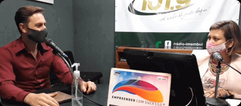Rádio Imembuí - Lisete Frohlich e o Empreendedorismo